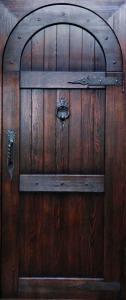 Дверь арочная