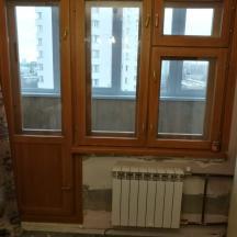 Финское окно, балконный блок