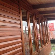 Деревянное финские окна