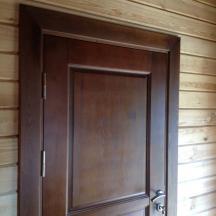 Входная утепленная дверь