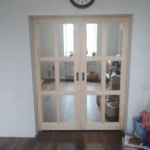 Дверь-купе с зеркалом с обеих сторон