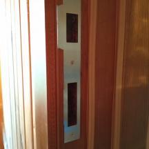 Монтаж ответной планки для утепленной двери