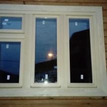 Финское окно, вид снаружи